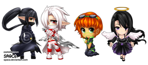 COMMISSION: Age of Chibi by Spaca