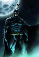 The Dark Knight by Riverlimzhichuan