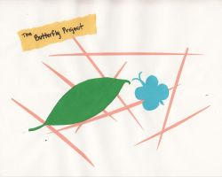 The Butterfly Project (Paper) by Klaine-rulz