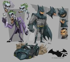 batman tribut by amavizca