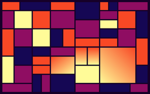 Sunset (Inspired by Piet Mondrian) by Cyprian63