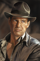 Indiana Jones - Harrison Ford by MyungsooLim