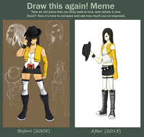 Meme - Before and After by SaturnDawn