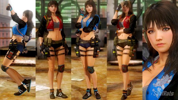 DOWNLOAD: MIYA - default costume [DOA5LR] by SaafRats