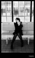 Train station by Isserley-Model