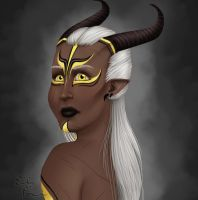 Inquisitor Kitness Adaar by emilythesmelly