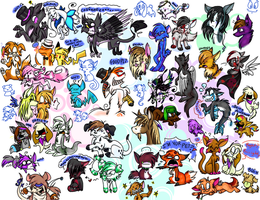 The ULTIMATE Doodle Page by ninibleh