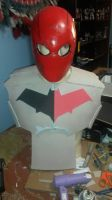 red hood costume armor pic by zanruos