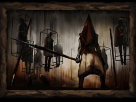 Silent Hill Pyramid Head by antarion