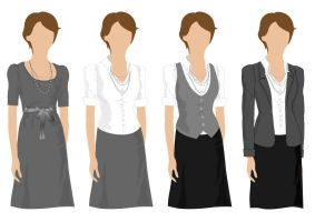 vector clothes by frana