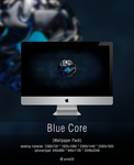 Blue Core (Wallpaper Pack) by error-23