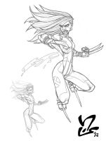 X-23 pencils by Grigori77