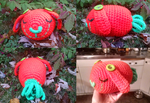 First Crochet Plush: Carrot Bunny by cottoncritter