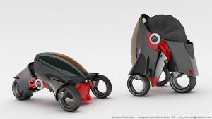 Piranha Smart 3 Wheeler by bahkung