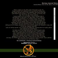 The Hunger Games Journal by thatfire-stock