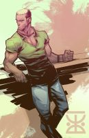 brutal man by EdJubey