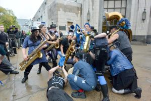 2014 Honk Festival, Chaotic Noise Converge 3 by Miss-Tbones