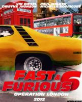 Fast and Furious 6 poster... by SimoneFerraroGD