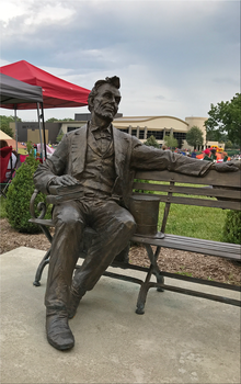 Abraham Lincoln at the Park IMG 2117 by WDWParksGal-Stock