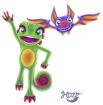 Yooka Laylee by Ugh-first-aid