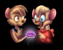 Art Trade: Secret of NIMH by AttackTheMap