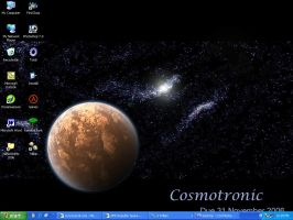 Cosmotronic Desktop by Catamount