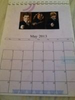 Merlin/HP/1D/Dr. Who Calendar - May by GryffindorPrincess74