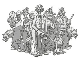 joker and his gang line by jimmymcwicked