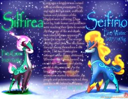 Seifirio and Silfirea-fakemon contest by Ninja-Jamal