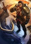 Rugged Garen has slain the dragon by yefta03
