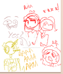 iScribble: Gamegrumps plays FNAF by Frozendawn404