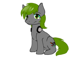 grey pone .:commish:. by ThaMutt