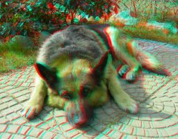 Hannibal 3D Anaglyph by yellowishhaze