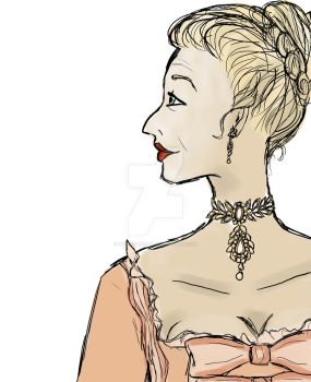 Quick Sketch: Marquise de Merteuil by WiltingHeart