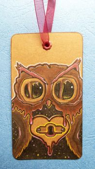 Cute owl doodle | Bookmark by CatherineWhite