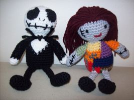 Jack and Sally pair by oddsterinJpan