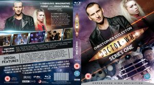 DOCTOR WHO SERIES 1 BLU-RAY COVER by MrPacinoHead