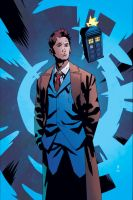 Dr Who Ongoing 3 cover by CharlieKirchoff