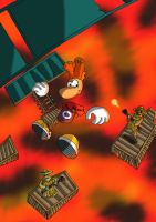 rayman hoodlum headquarters by SEBASTIEN11