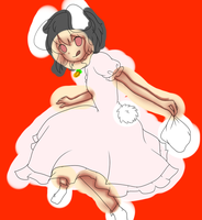 Tewi Inaba (Flat Colored Lineart) by BrokenAmulet