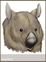 It's...a  wombat. by Nyaasu