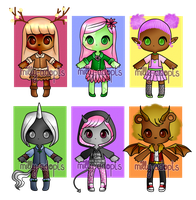 CLOSED | Adopts #39 | Fantasy creatures by milly-adopts