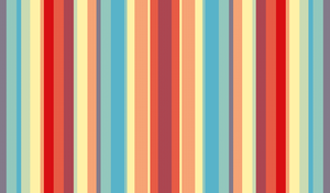 Sunset Stripes Wallpaper by StrawberryHollow