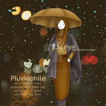 The Lover of Rain by yumigawa