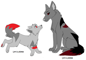 Brother and Sister Adopts by AvalaAdopts
