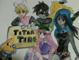 IT'S....TITAN TIME! by vampiresongka