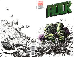 Hulk Blank Cover Commission by quahkm