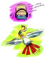 Twitch Plays Pokemon doodles by Jamie-B