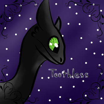 F2U Toothless icon by GaIaxy-AngeI