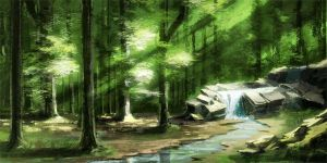 Forest Speed_2 by Revilo-o